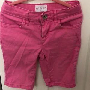 Children's Place Pink Girls Shorts